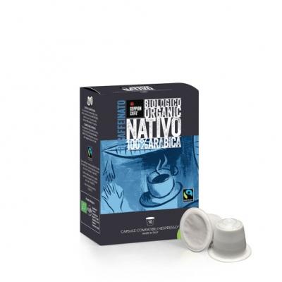 Goppion Caffè Nativo Decaf Capsules (Nespresso compatible). 12 Doosjes à 10 stuks.